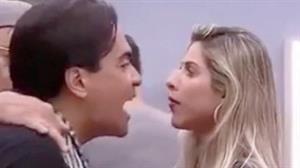 """Ana Paula Minerato e Fábio Arruda quase saem no tapa em """"A Fazenda"""""""
