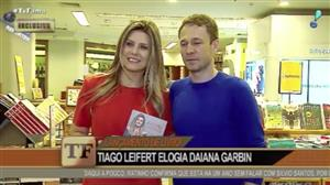 "Tiago Leifert fala sobre Marcos Harter: ""Ele fala o que quiser"""