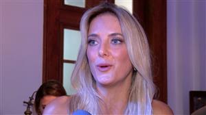 Ticiane Pinheiro diz que ainda não se sente casada com César Tralli