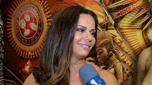 Viviane Araújo nega que esteja namorando Kainan Ferraz