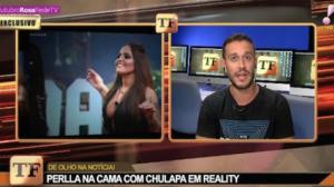 """Esposa de Chulapa comenta boatos de traição com Perlla: """"É desrespeitoso"""""""