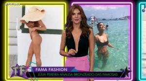 Júlia Pereira analisa bronzeado das famosas