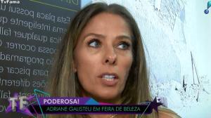 """Adriane Galisteu revela que não faz plásticas por """"medo de dar errado"""""""