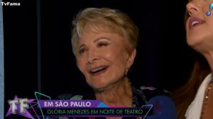 Glória Menezes diz que ela e Tarcísio Meira não pensam em aposentadoria