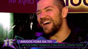 """Victor Sarro sobre meio-irmão de Anitta: """"Ela deve ter mais uns 4 ou 5"""""""