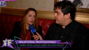 """Maria Zilda explica """"climão"""" com Patrícia Poeta: """"Fui mal interpretada"""""""