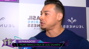 """Felipe Franco nega ter dívida de acidente com taxista: """"Paguei o que tinha"""""""