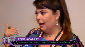 """Fabiana Karla fala sobre sequelas após tiroteio: """"Sinto um resquício"""""""