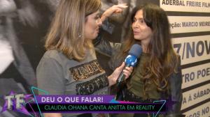 Cláudia Ohana pode ressuscitar personagem de novela em reality