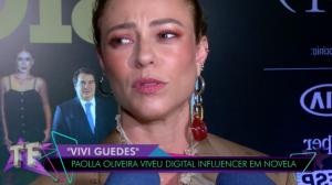 Paolla Oliveira critica vazamento de fotos em cena final de novela