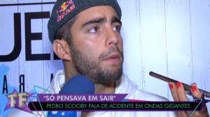"""Pedro Scooby fala sobre acidente em onda gigante: """"Eu quase morri"""""""