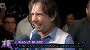"Roberto Carlos fala sobre novo relacionamento: ""Estamos ensaiando"""