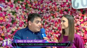 """Chris Flores quer reencontrar a grávida de Taubaté: """"Ela é minha musa"""""""