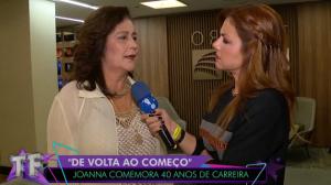 """Joanna descarta rivalidade com novas cantoras: """"Torço por todas elas"""""""