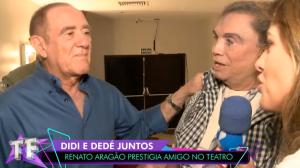 Amigos para sempre: Didi e Dedé voltarão a atuar juntos no cinema