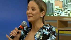 """Ticiane Pinheiro sobre sexo com Cesar Tralli: """"Nunca deixou de ser bom"""""""