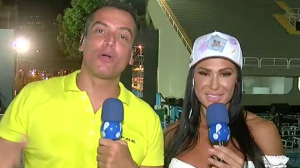 Gracyanne Barbosa conta tudo sobre a cobertura dos Bastidores do Carnaval