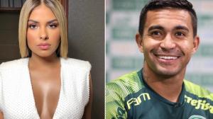 """Leo Dias: Dudu nega namoro com Munik Nunes: """"Ela está namorando sozinha"""""""