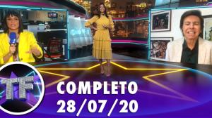 TV Fama (28/07/20) | Completo