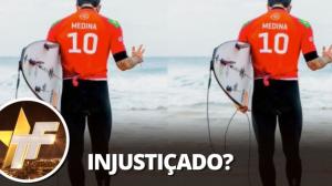 """Yasmin Brunet após eliminação de Gabriel Medina nas Olimpíadas: """"Roubado"""""""