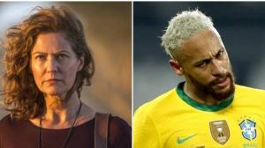 """Patrícia Pillar diz que Neymar Jr. """"decepciona a cada dia"""" e craque rebate"""