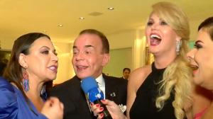 Val Marchiori reúne famosos em festa de aniversário