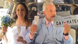 """""""Foi uma sorte muito grande"""", diz Mateus Carrieri em sua festa de casamento"""