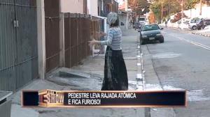 Pedestres levam a maior 'rajada' de 'pombo' folgado