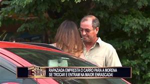 Marmanjos entram em roubada ao emprestar carro para morena