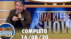 João Kléber Show (16/08/2020) Completo
