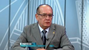 Gilmar Mendes, membro do STF e presidente do TSE
