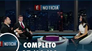 É Notícia fala sobre impacto do coronavírus no Brasil (17/03/20)   Completo