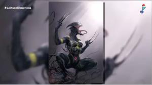 Marvel lança capas de heróis infectados pelo vilão alienígena Venom