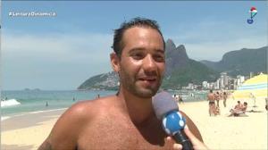 Verão começa com calor de rachar no Rio de Janeiro
