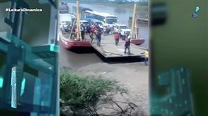 Turista espanhol escapa por pouco de ser esmagado por balsa na Colômbia