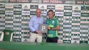 Eduardo Baptista não é mais técnico do Palmeiras