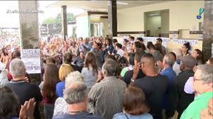 Funcionários e pacientes de hospital de BH protestam contra más condições