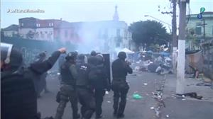 Polícia se mantém na Cracolândia após operação contra o tráfico