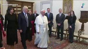 Papa Francisco e Donald Trump se encontram no Vaticano