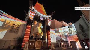 Espetáculo de projeções celebra os 90 anos do Teatro Chinês de Los Angeles