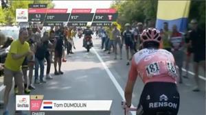 Ciclista holandês vive situação desagradável no Giro da Itália de Ciclismo