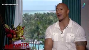 Dwayne Johnson diz que elenco de 'Baywatch' representa diversidade mundial