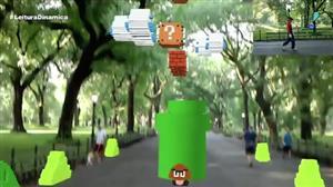Game antigo mostra para que serve a realidade aumentada