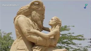 Cidade búlgara recebe festival de esculturas gigantes de areia