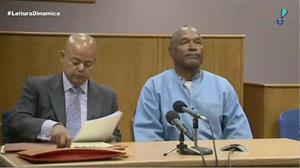 O.J. Simpson receberá liberdade condicional após ter ficado nove anos preso