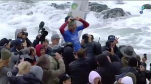 Filipe Toledo é o primeiro brasileiro a vencer etapa sul-africana no surfe