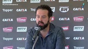 Presidente do Atlético-MG defende elenco após fiasco na Copa do Brasil
