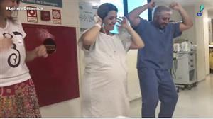 Grávida pede para dançar 'Despacito' antes de ter bebê no ES