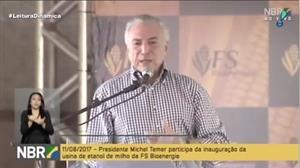 Temer diz que Brasil deve retomar em breve o selo de grau de investimento