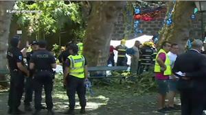 Queda de árvore deixa 13 mortos em cidade portuguesa